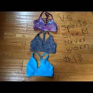 Victoria's Secret sports bras